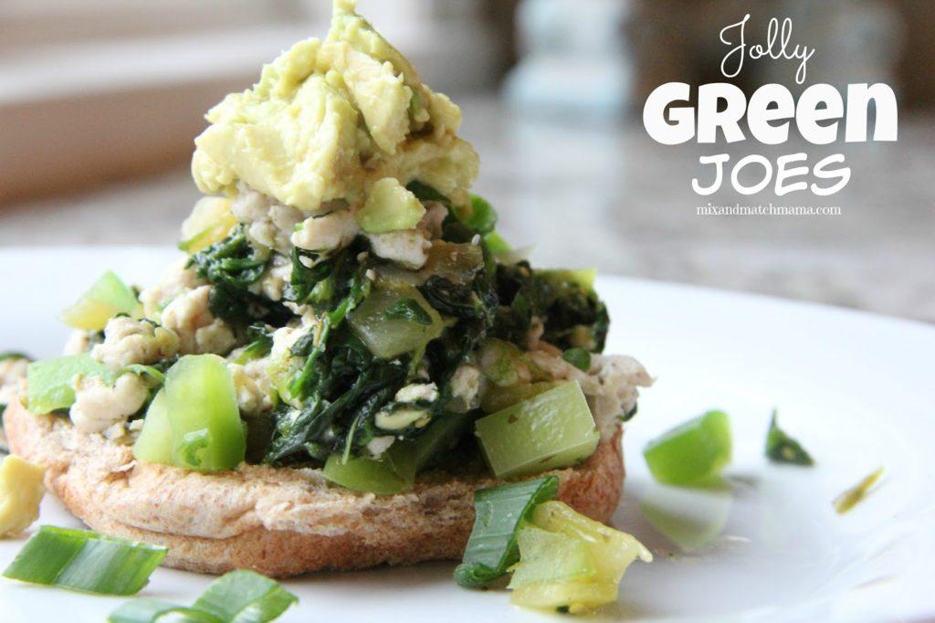 Jolly Green Joes Recipe, Dinner Tonight: Jolly Green Joes