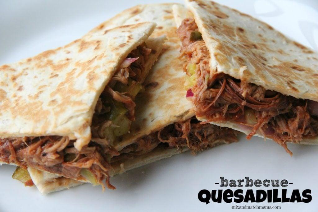 Bbq Quesadillas Recipe, Dinner Tonight: BBQ Quesadillas