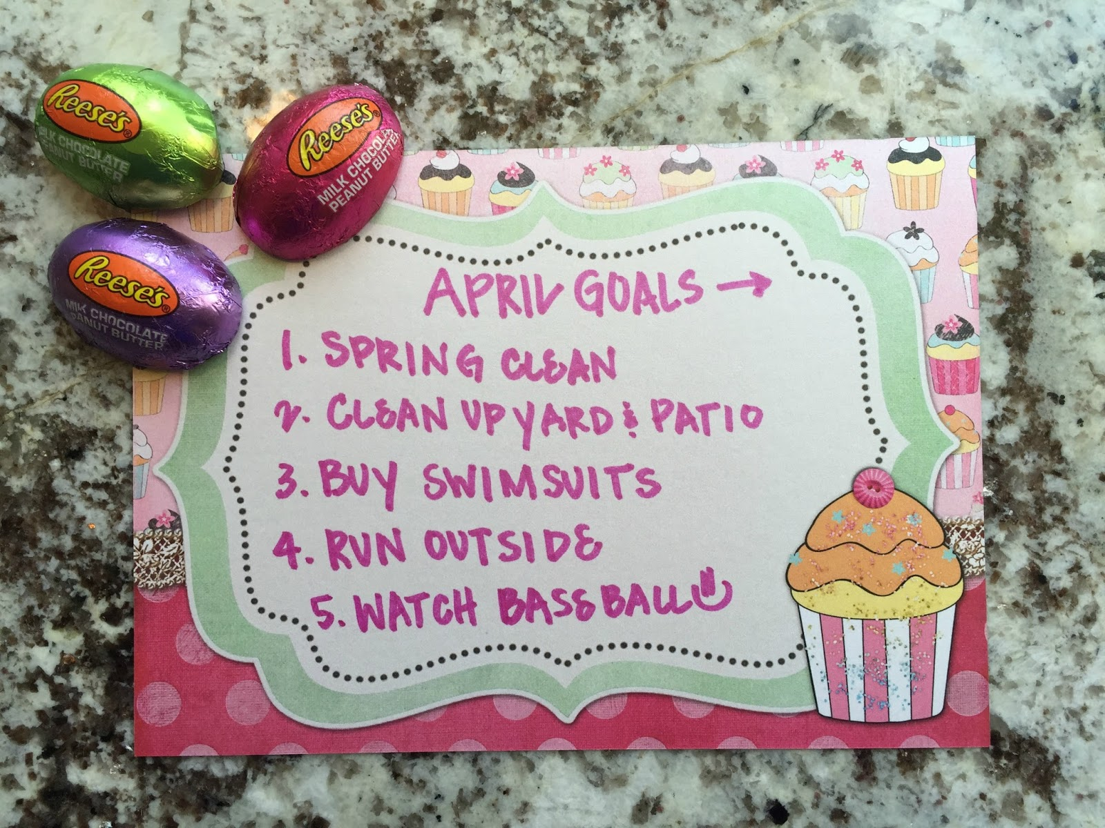, May Goals & A GIVEAWAY!!