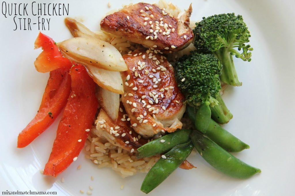 Quick Chicken Stir Fry Recipe, Dinner Tonight: Quick Chicken Stir Fry