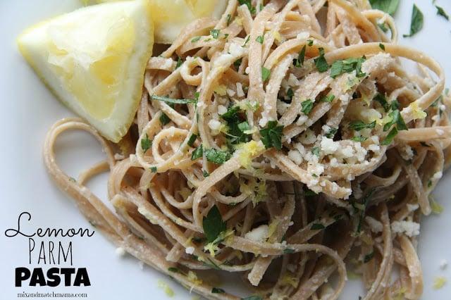 Lemon Parm Pasta Recipe, Dinner Tonight: Lemon Parm Pasta