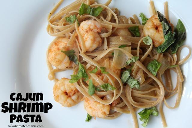 Cajun Shrimp Pasta Recipe, Cajun Shrimp Pasta