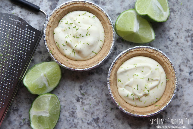 Key Lime Pudding Pie Recipe, Key Lime Pudding Pie