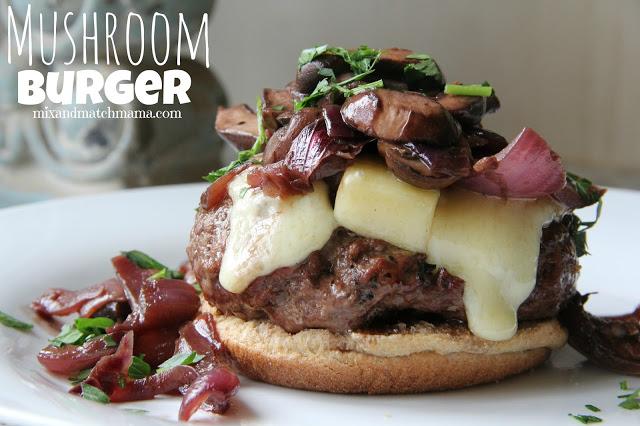 Mushroom Burgers Recipe, Mushroom Burgers