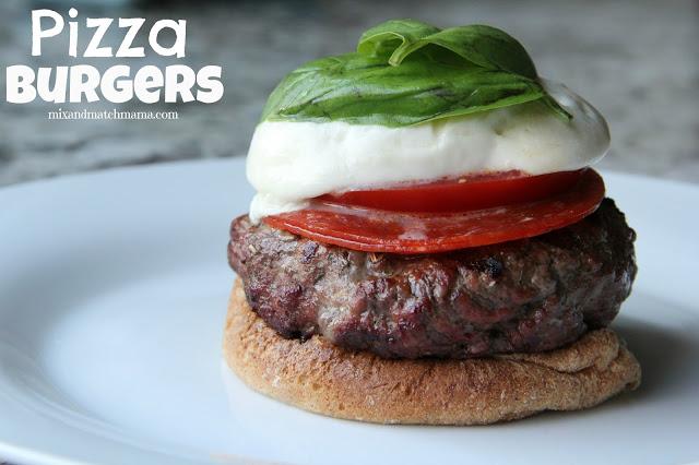 Pizza Burgers Recipe, Pizza Burgers