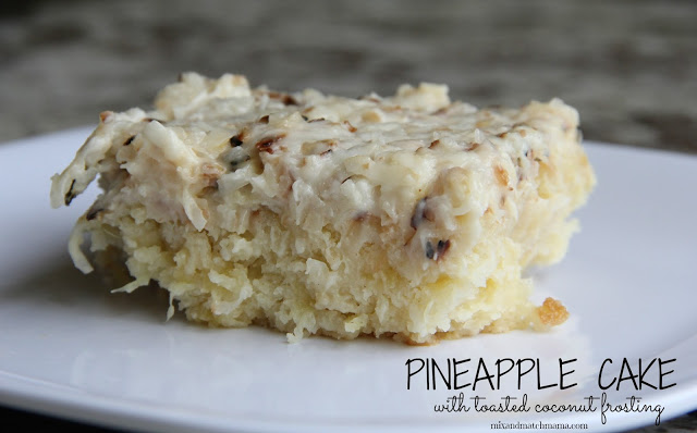 Pineapple Cake With Toasted Coconut Frosting Recipe, Pineapple Cake with Toasted Coconut Frosting