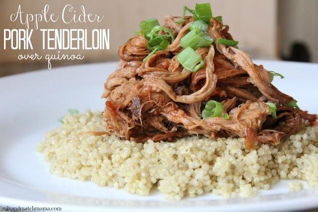 Apple Cider Pork Tenderloin Recipe, Apple Cider Pork Tenderloin