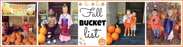 , Fall Bucket List