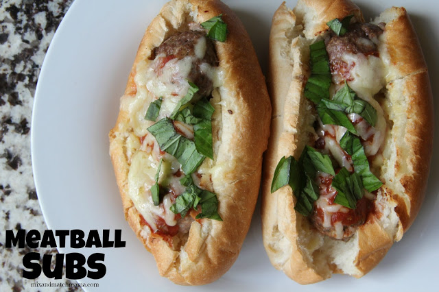Meatball Subs Recipe, Meatball Subs
