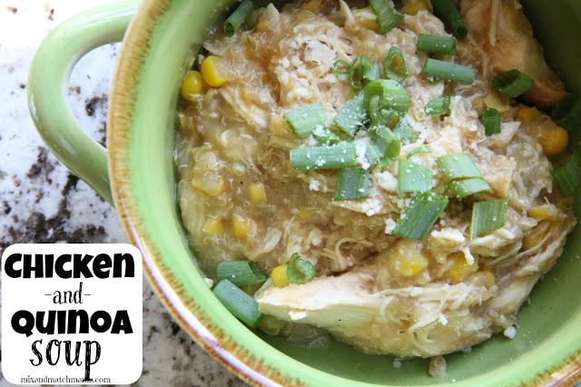 Chicken & Quinoa Soup Recipe, Chicken & Quinoa Soup