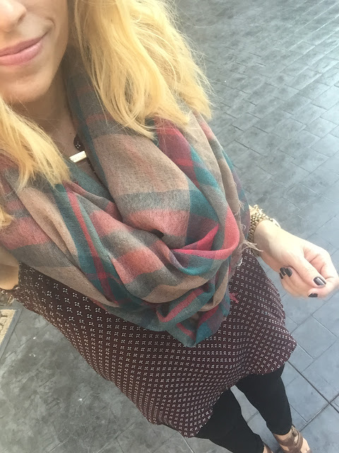 , Leaves, football, sweaters AND SCARVES!