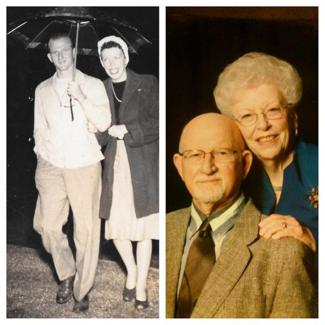 Seventy years ago today my grandparents were married SEVENTY! Theyhellip