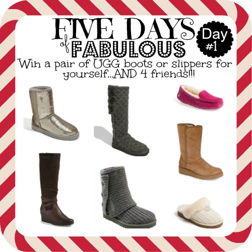 , Five Days of Fabulous: Uggs and Missouri!