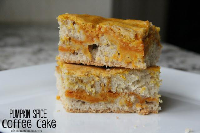 Pumpkin Spice Coffee Cake Recipe, Pumpkin Spice Coffee Cake