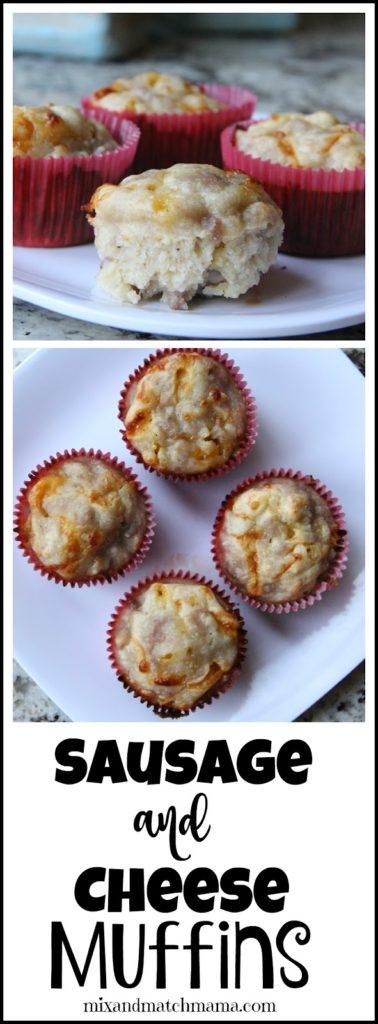 Sausage & Cheese Muffins Recipe, Sausage & Cheese Muffins
