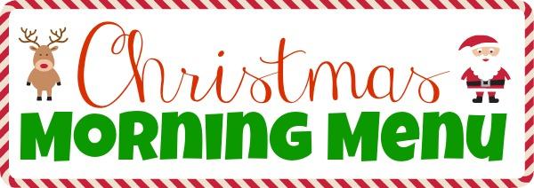Christmas Morning Menu Recipe, Christmas Morning Menu