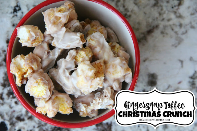 Gingersnap Toffee Christmas Crunch Recipe, Gingersnap Toffee Christmas Crunch