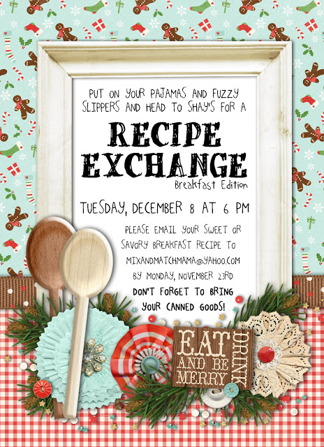 Breakfast Edition Sixth Annual Recipe Exchange Recipe, Sixth Annual Recipe Exchange: Breakfast Edition