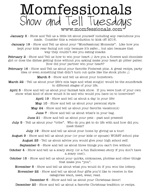 , Show & Tell Tuesday: Intro & Resolutions