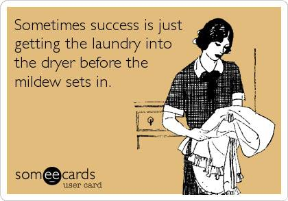 , Excuse me, I can't blog…I have laundry to fold.