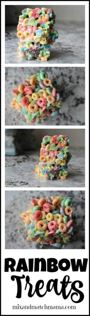 Rainbow Treats Recipe, Rainbow Treats