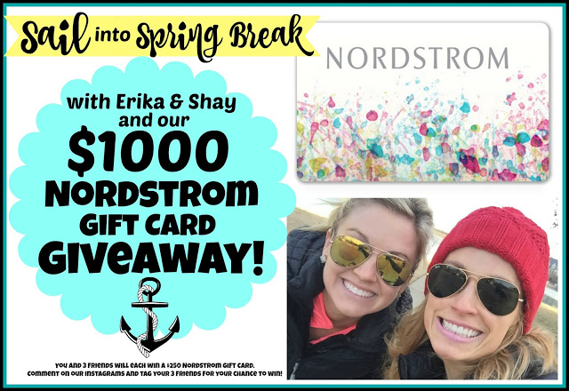, Sail into Spring Break Giveaway!