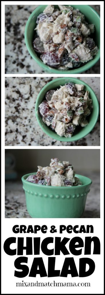 Grape & Pecan Chicken Salad Recipe, Grape & Pecan Chicken Salad