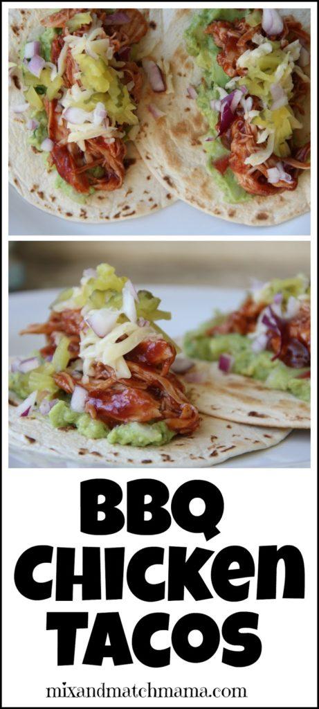 Bbq Chicken Tacos Recipe, BBQ Chicken Tacos