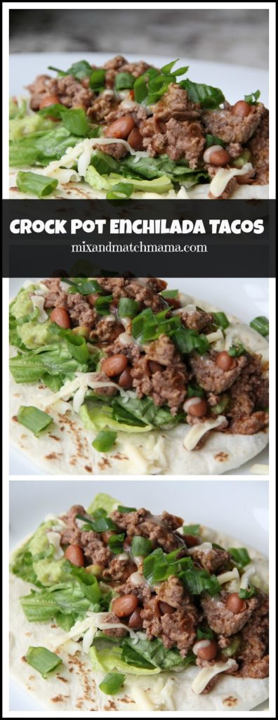 Crock Pot Enchilada Tacos Recipe, Crock Pot Enchilada Tacos