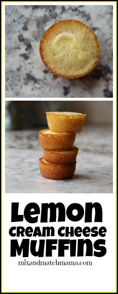 Lemon Cream Cheese Muffins Recipe, Lemon Cream Cheese Muffins