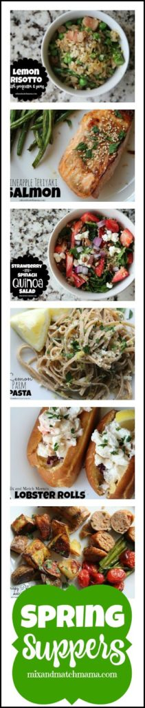 Spring Suppers Recipe, Spring Suppers