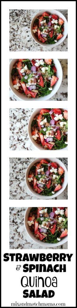 Strawberry & Spinach Quinoa Salad Recipe, Strawberry & Spinach Quinoa Salad