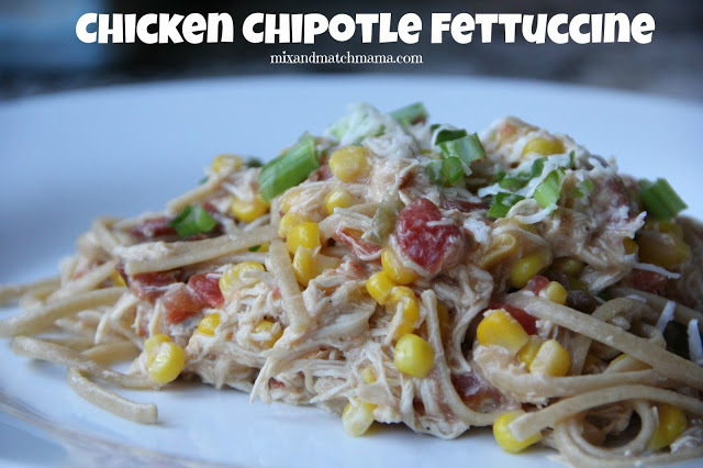 Chicken Chipotle Fettuccine Recipe, Chicken Chipotle Fettuccine