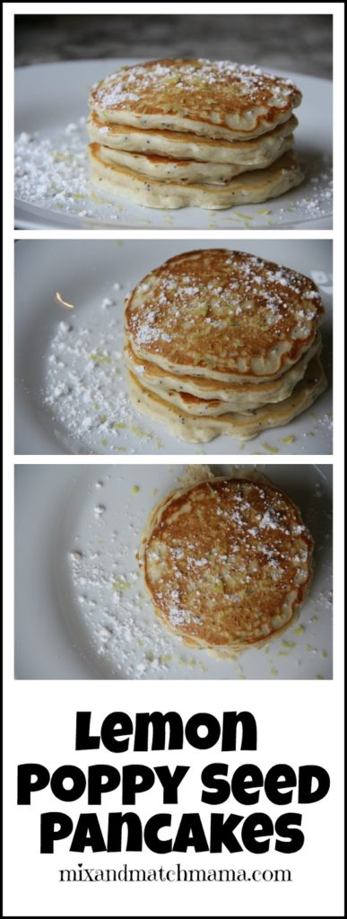Lemon Poppy Seed Pancakes Recipe, Lemon Poppy Seed Pancakes