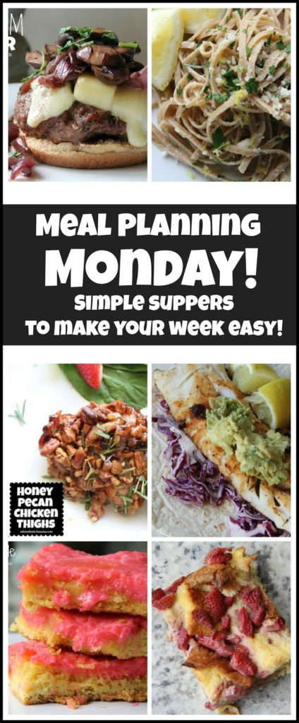 , Meal Planning Monday #135