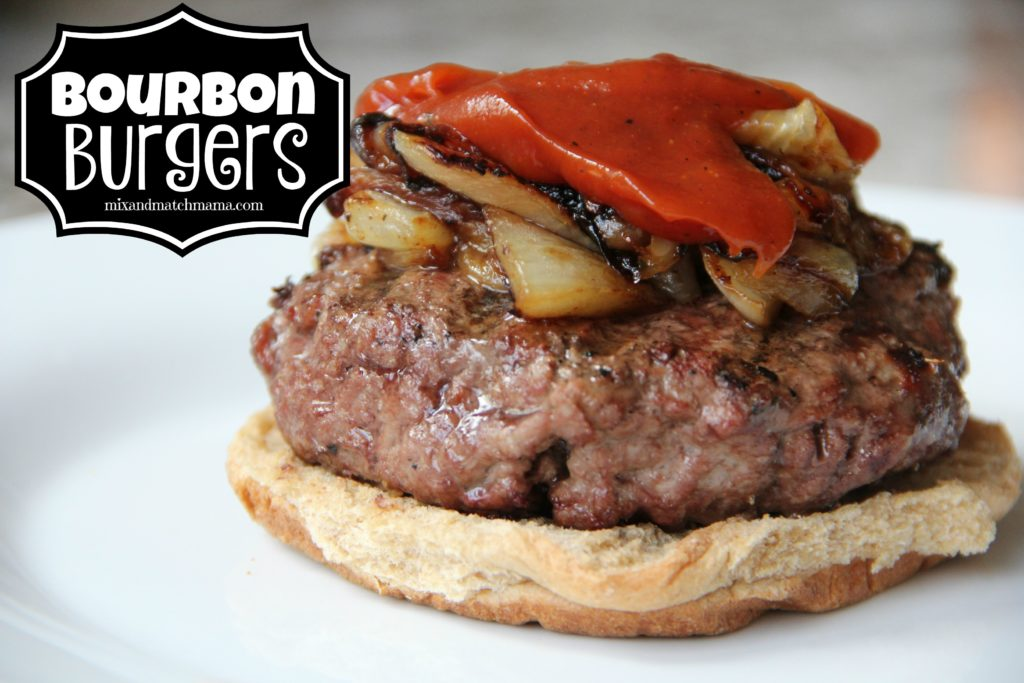 Bourbon Burgers Recipe, Bourbon Burgers