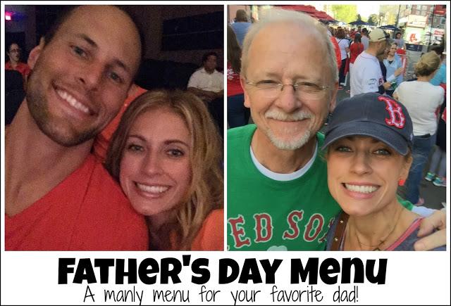 Father's Day Menu Recipe, Father's Day Menu!