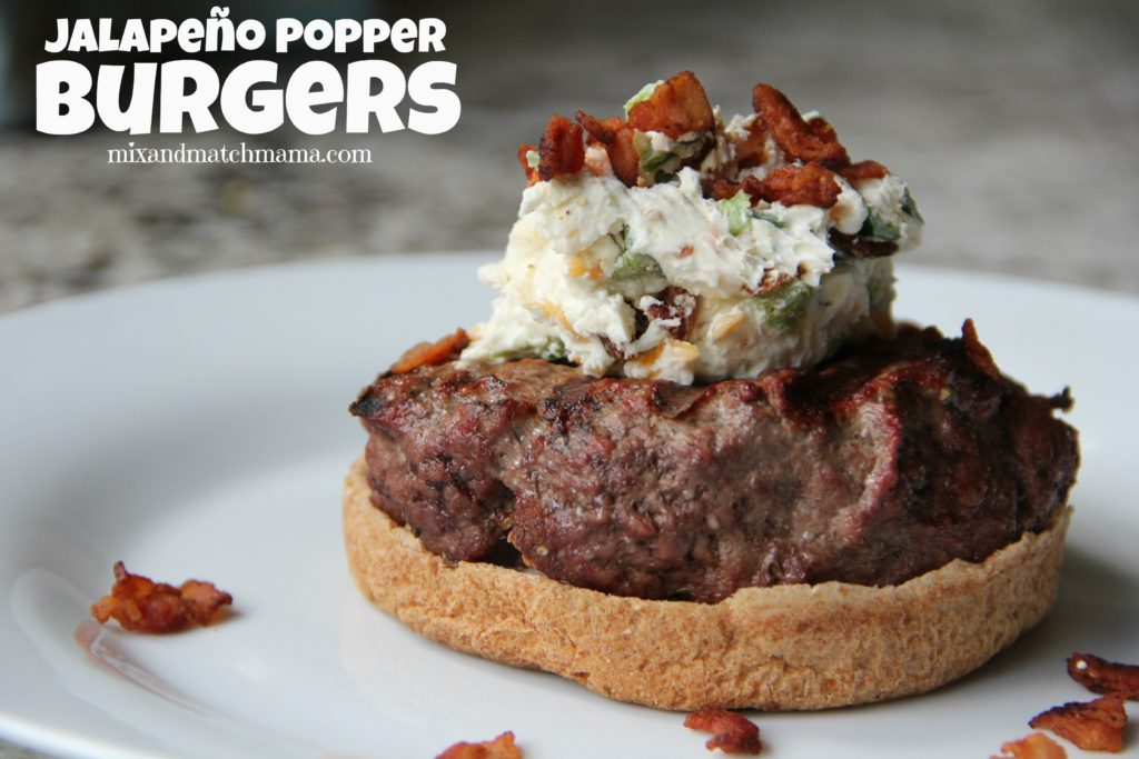 , Jalapeño Popper Burgers
