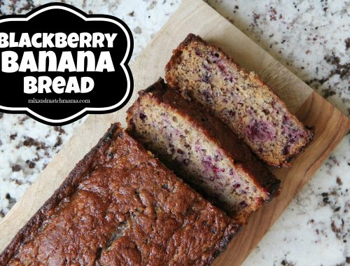 Blackberry Banana Bread
