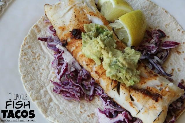 Chiipotle Fish Tacos