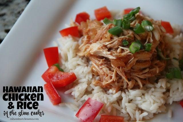 hawaiian Chicken over Rice