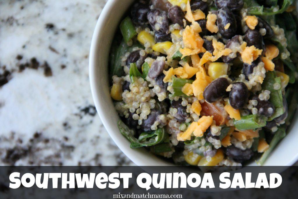 Southwest Quinoa Salad Recipe, Southwest Quinoa Salad