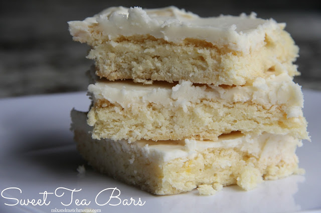 Sweet Tea Bars