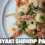 Teriyaki Shrimp Pasta