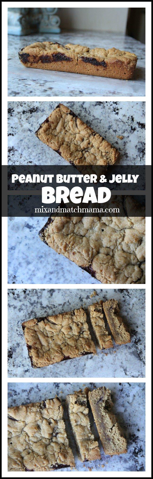 Peanut Butter & Jelly Bread