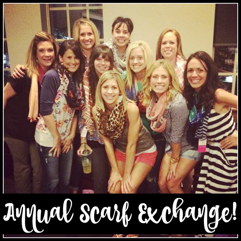 , Scarf Exchange 2016