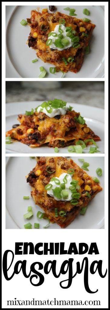 Enchilada Lasagna Recipe, Enchilada Lasagna