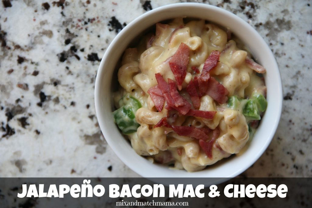 Jalapeno Bacon Mac & Cheese