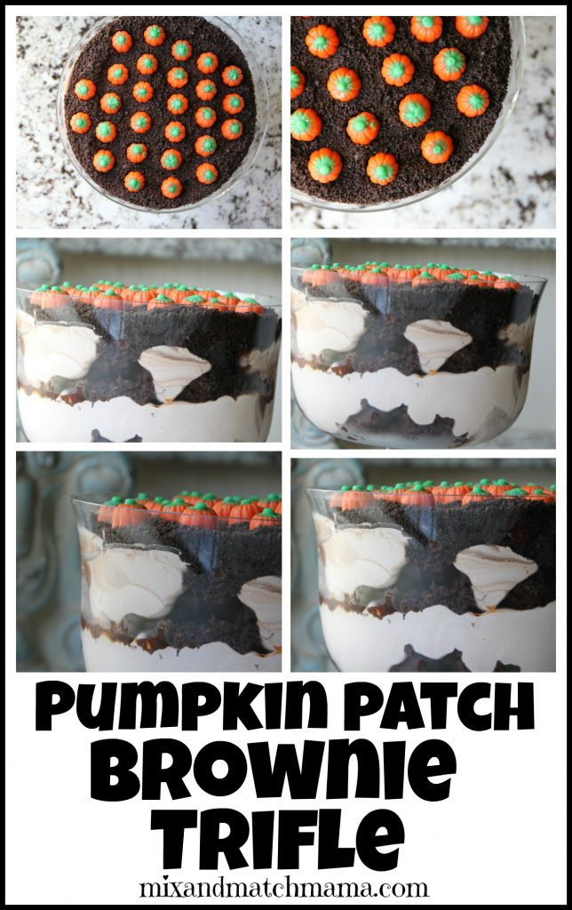 Pumpkin Patch Brownie Trifle Recipe, Pumpkin Patch Brownie Trifle