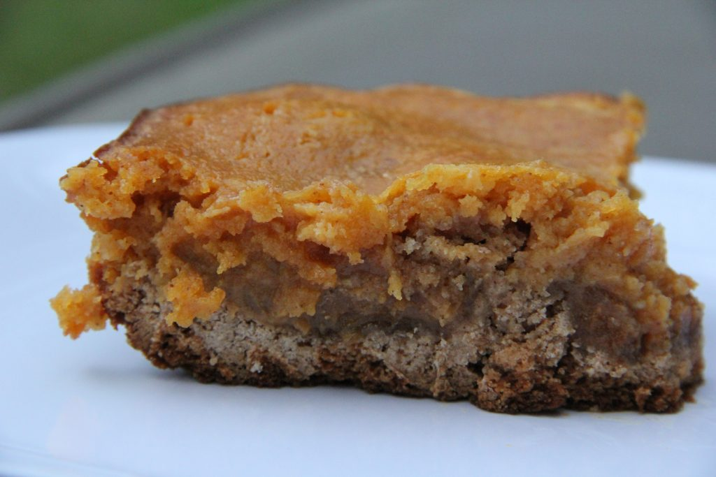 Pumpkin Caramel Bars